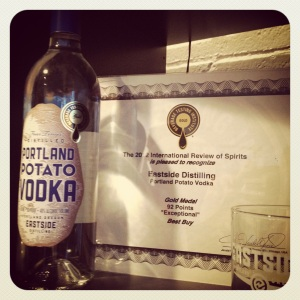 Portland Potato Vodka, Eastside Distillery