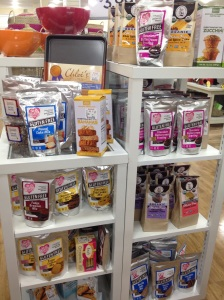 Home Goods selection of gluten-free baking mixes